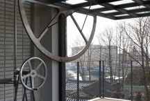 industrial iterations / industrial interior design and home decor in industrial buildings and loft settings
