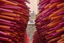 sculpture + installation / installation art + sculpture