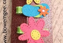 Felt Barrette Ideas / by Kate Chidester
