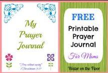 Prayer / Spiritual Journal / Planner