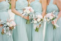 Colours ❁ Aquamarine / Soft, powder blue colour which is popular this year.