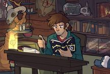 Gravity Falls / Alex Hirsch is my hero on so many levels.