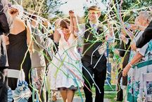 Styling ◊ Send Off / Some unique ways to create an amazing send off!