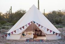 Styling ◊ Marquees, Tee Pees & Tents / Ideas for decorating marquees, tents and tee pees!