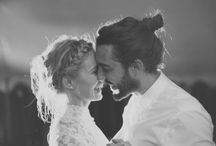Styling ◊ Groom / Dapper grooms! Think braces, brogues and tied up hair - the boho groom.