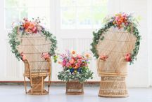 Styling ◊ Chairs / Creative ways to dress up your wedding chairs!
