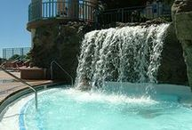 Water Feature Ideas / Keep your pool flowing with these cool water features!
