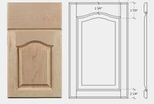 Raised Panel Door Styles (WOOD) / Raised Panel Door Styles by Superior Cabinets, Available in Oak, Hickory, Alder, Maple, Cherry and Black Walnut.