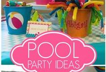 "Planning A Pool Party in 6 Weeks / What's the PERFECT way to throw a POOL PARTY?  We've done the work for you in this board!  Read all about our 5 Steps to the Ultimate Pool Party in our Blog ""In The Water"" at lathampool.com"