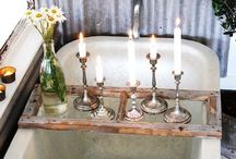 Using ※ Candles / How and where to incorporate candles into your wedding décor and styling.