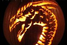 Wild Animal pumpkins / Wild animal pumpkins capture almost as much attention as Halloween designs.