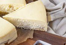 Welt der Käsekuchen und Cheesecakes