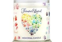 Pet Memorials / Our pets are a part of our family. Furever Loved Memorial Candles are one way to remember our pets that have crossed the Rainbow Bridge. This board also includes other ways to remember our fur babies. #PetMemorials
