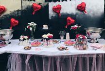 JAIMYSBAKERY / Taarten, dripcakes, cake, happy birthday, verjaardag, Rotterdam, decorating table, party table, tule, ideas