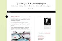 Glass Jars & Photographs