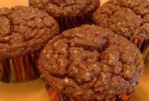 Muffins & Sweet Breads (grain free) / Au Naturale Nutrition, recipes, paleo, primal, gluten free, dairy free, natural, healthy, low carb, breakfast, sweet breads, chocolate, muffins, coconut flour, almond flour, honey, flax.  www.AuNaturaleNutrition.com,