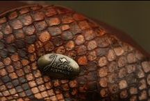 Jacaru Australia - EXOTIC collection 2013 / Jacaru Australia is using the finest quality of luxury leathers including Crocodile, Shark, Kangaroo and Pythons skins.