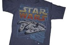 Star Wars T-Shirts / A collection of cool Star Wars inspired T-shirts, sweatshirts, tank tops, and other merch from around the internet.