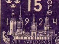 Stamps - SCANDINAVIA / Denmark - Faroe Islands - Finland - Iceland - Norway - Sweden