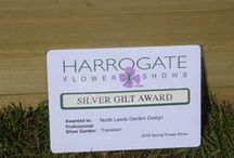 Harrogate Spring Flower Show 2016 / Photos from the creation of our award-winning Silver-gilt garden 'Transition'.