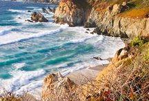 Big Sur, Carmel, Pebble Beach, California / Beautiful Central Coast.