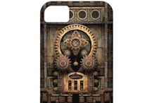 iPhone 5 / 5S / SE Steampunk cases / Steampunk phone cases for iPhone 5S & iPhone 5 iPhone SE from Poppycock & Cheapskate