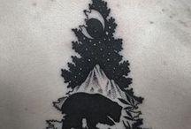 Tattoo White & Black