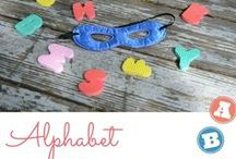 Alphabet Learning / A to Z...and all those other letters, too!