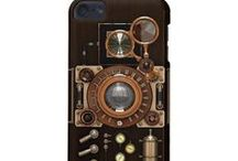 Steampunk iPod Touch 5G cases / Steampunk iPod Touch 5G cases available at Zazzle http://www.poppycockandcheapskate.com/ipod-touch.html