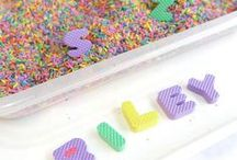My Own Name / Crafts and activities for name recognition - toddler and preschooler approved!
