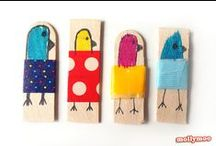 Craft Stick-apalooza / Some of the many, many things you can make from craft or popsicle sticks. / by Emma @ Our Whimsical Days