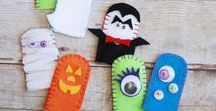 Halloween / Officially not-so-scary Halloween activities and craft ideas for toddlers and preschoolers.