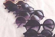 Sunglasses / Retro, vintage, funny, classic... All the sunnies perfect for those sunny days, in summer or winter.