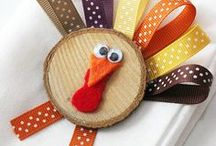 Thanksgiving / Cute crafts and activities to celebrate Thanksgiving