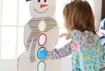 Winter / Fun winter ideas for kids - crafts, activities and other ways to play!