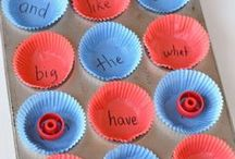 Sight Words and Literacy / Fun ways to learn sight words and other early literacy ideas.