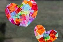 Valentine's Day <3 / Let's celebrate Valentine's Day - crafts and activity ideas!