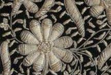 вышивка золотом и серебром