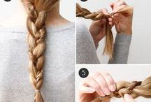 hair ideas and how to's