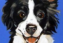 Pet Art / Animals are beautiful on their own, but even more so when portrayed as a piece of art. Here are some great artistic representations of our precious pet friends!