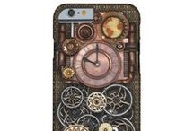 Steampunk iPhone 6/6S cases / Steampunk style iPhone 6/6S cases from Poppycock & Cheapskate