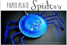 Paper plate crafts / Cute crafts for kids made from paper plates!
