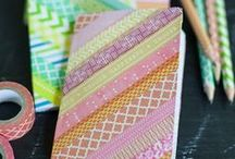 Washi tape wonders / Some of the cool things you can make and do with Washi tape (also called craft tape or paper tape)