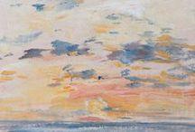 Eugène Boudin dans les nuages / Venez rêvasser en contemplant les ciels d'Eugène Boudin.