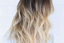 Dark hair / Highlights