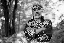 Asia / Ainu / Ainu clothes, accessories and idées for costumes