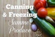 Canning & Freezing