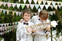 Bruidsmeisjes & jongens / Inspiratie voor je bruidskinderen.