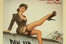 WWII Pin-UP Art
