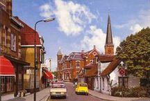 Laanstraat Baarn / Ansichtkaarten van de Laanstraat in Baarn